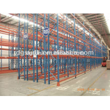 Adjustable hot selling double deep metal pallet storage racks and shelf
